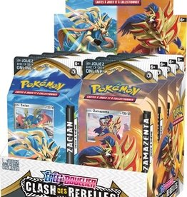 Pokemon Pokemon: Clash Des Rebelles: Theme Deck (FR)