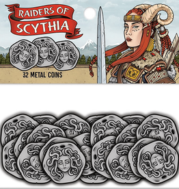 Renegade Game Studios Précommande: Raiders Of Scythia: Metal Coins