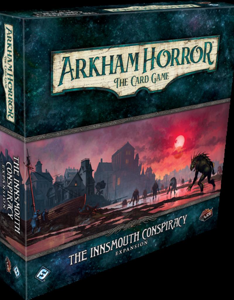 Fantasy Flight Games Précommande: Arkham Horror LCG: Ext. The Innsmouth Conspiracy Deluxe (EN)