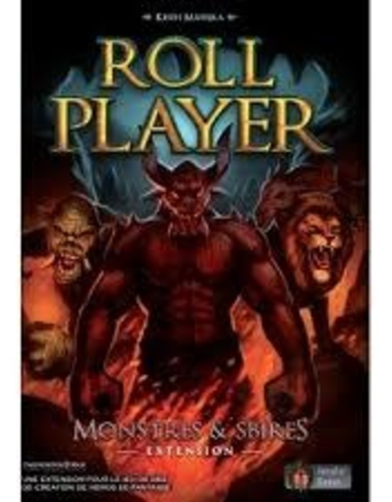 Intrafin Games Précommande: Roll Player: Ext. Monstres Et Sbires (FR)