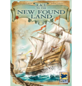 Z-Man Games, Inc. Race To The New Found Land (FR) (boite endommagée)