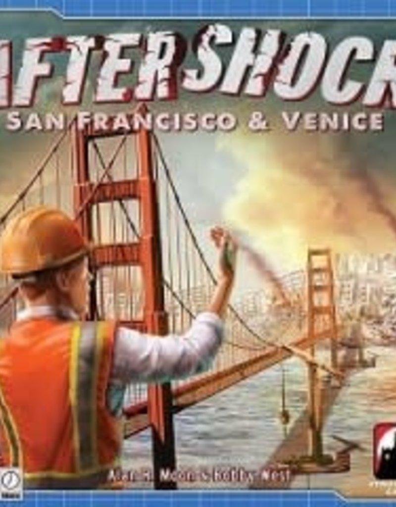Stronghold Games Aftershock: San Francisco & Venice (EN) (boite endommagée)