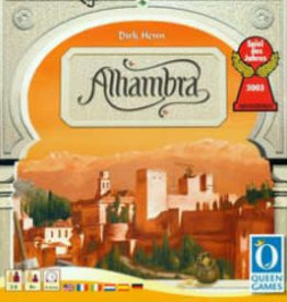 Queen Games Alhambra (EN) (boite endommagée)