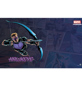 Fantasy Flight Games Précommande: Marvel Champions LCG: Hawkeye Game Mat (EN)
