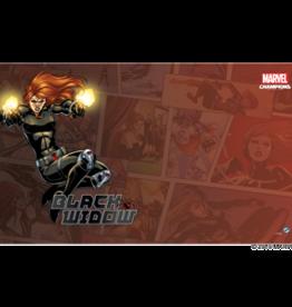 Fantasy Flight Games Précommande: Marvel Champions LCG: Black Widow  Game Mat (EN)