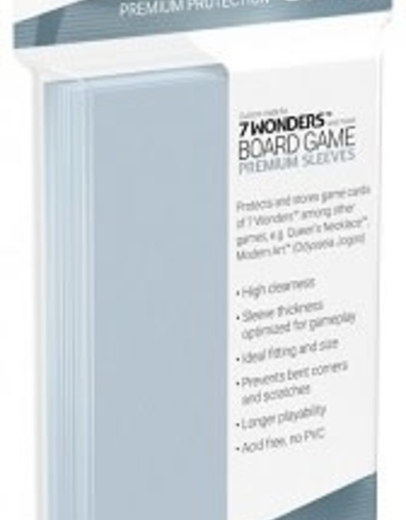 Ultimate Guard 10278 Sleeve  «7 Wonders» 67 mm X 103 mm / 80 (commande spéciale)