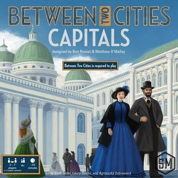 Between Two Cities: Ext. Capitals (EN) (commande spéciale)