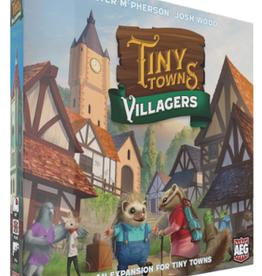 Alderac Entertainment Group Précommande: Tiny Towns: Ext. Villagers (EN) Octobre2020