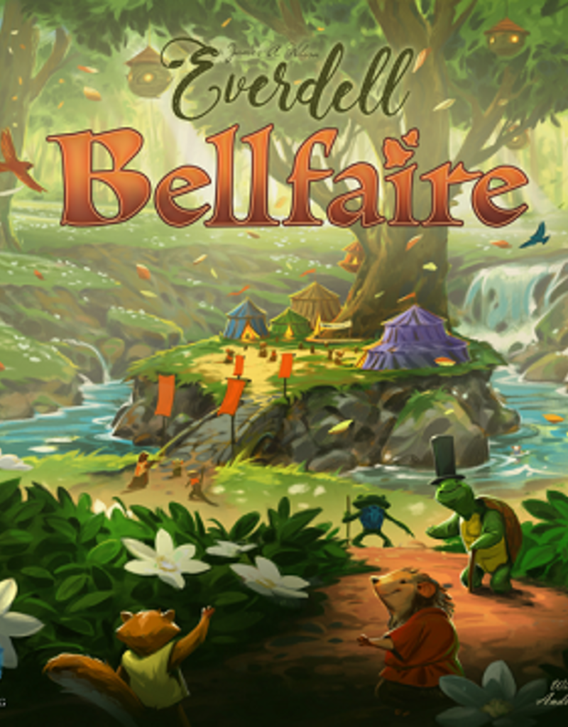 Game Salute Everdell: Ext. Bellfaire (EN)