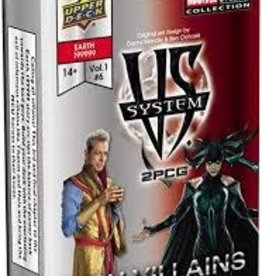 Upper Deck VS System 2PCG:  MCU Villains (EN)