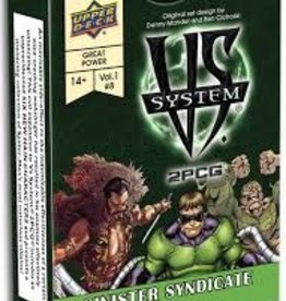 Upper Deck VS System 2PCG: Sinister Syndicate (EN)