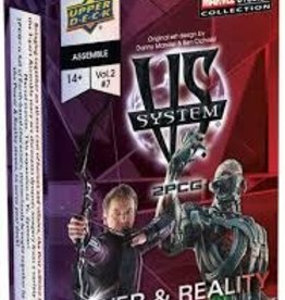 Upper Deck VS System 2PCG:  Marvel: Power & Reality (EN)