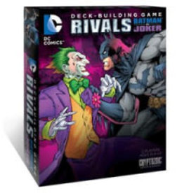 Cryptozoic Entertainment DC Comics  Deck Building Game: Rivals Batman vs Joker (EN) (commande spéciale)