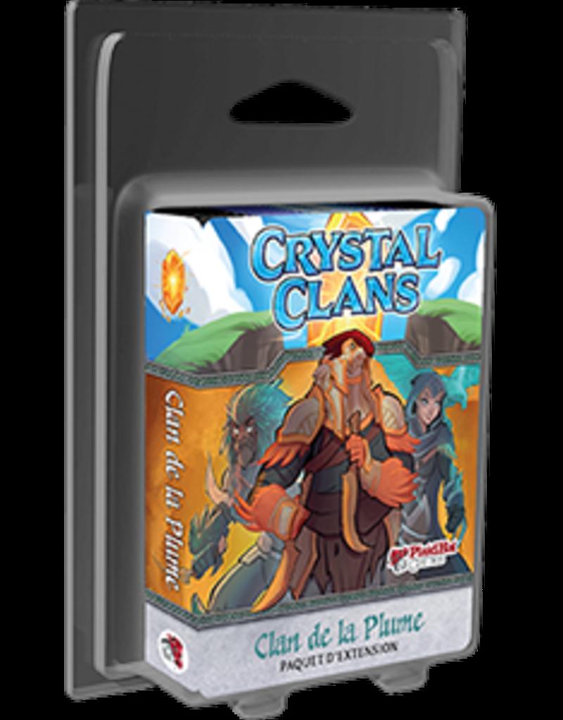 Plaid Hat Games Crystal Clans: Ext. Clan De La Plume (FR) (commande spéciale)