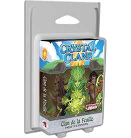 Plaid Hat Games Crystal Clans: Ext. Clan De La Feuille (FR) (commande spéciale)