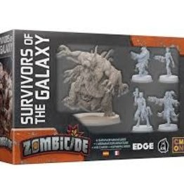 Edge Entertainment Zombicide Invader: Ext. Survivors Of The Galaxy (FR)