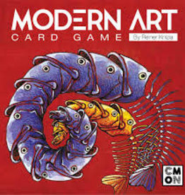 CMON Limited Modern Art: The Card Game (EN)