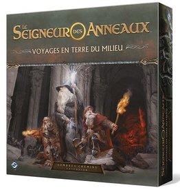Fantasy Flight Games Seigneur Des Anneaux JCE: Voyages En Terre Du Milieu: Sombres chemins (FR)
