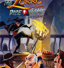 Pull the Pin Games Précommande: The Zorro Dice Game: Ext. Heroes And Villains (EN) Octobre2020