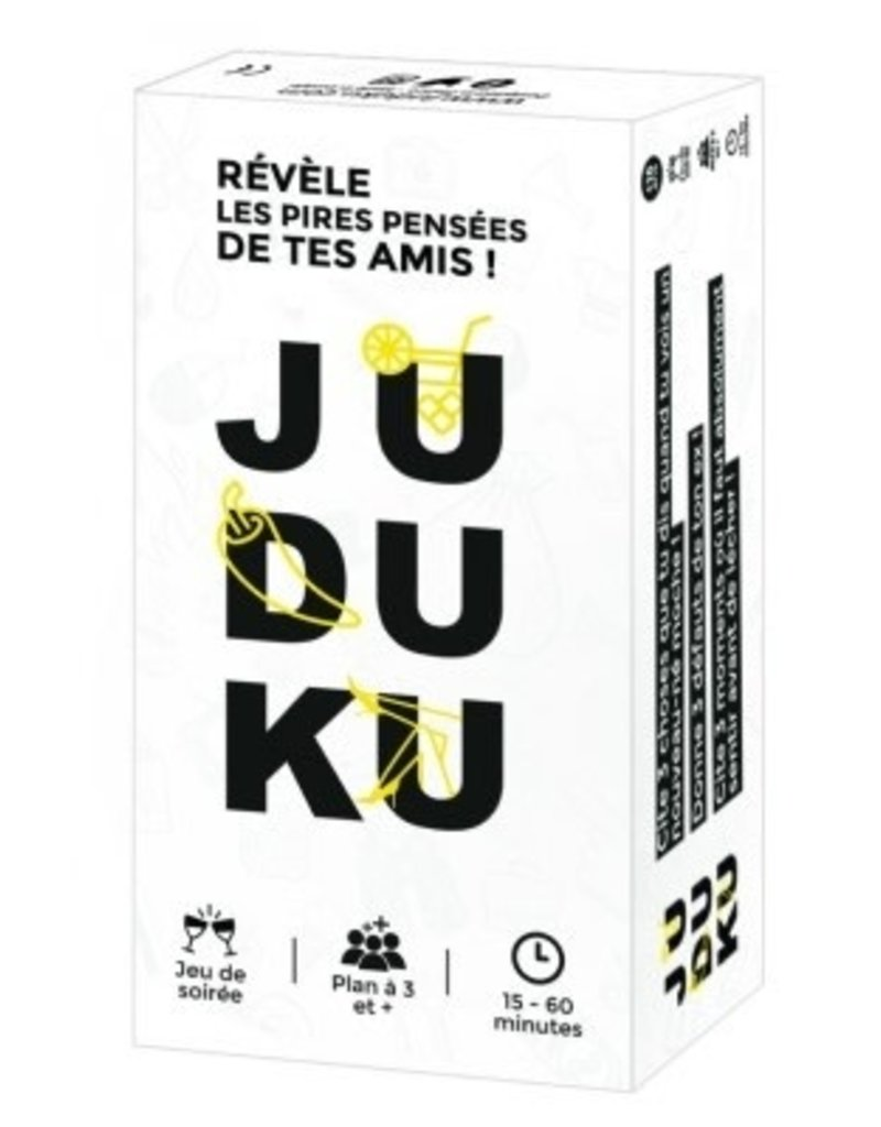 ATM Gaming Précommande: Juduku: Edition Québec (FR)
