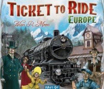 Ticket To Ride: Europe (EN)