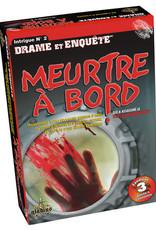 Editions Gladius International Inc. Drame & Enquête: Meurtre À Bord (FR)