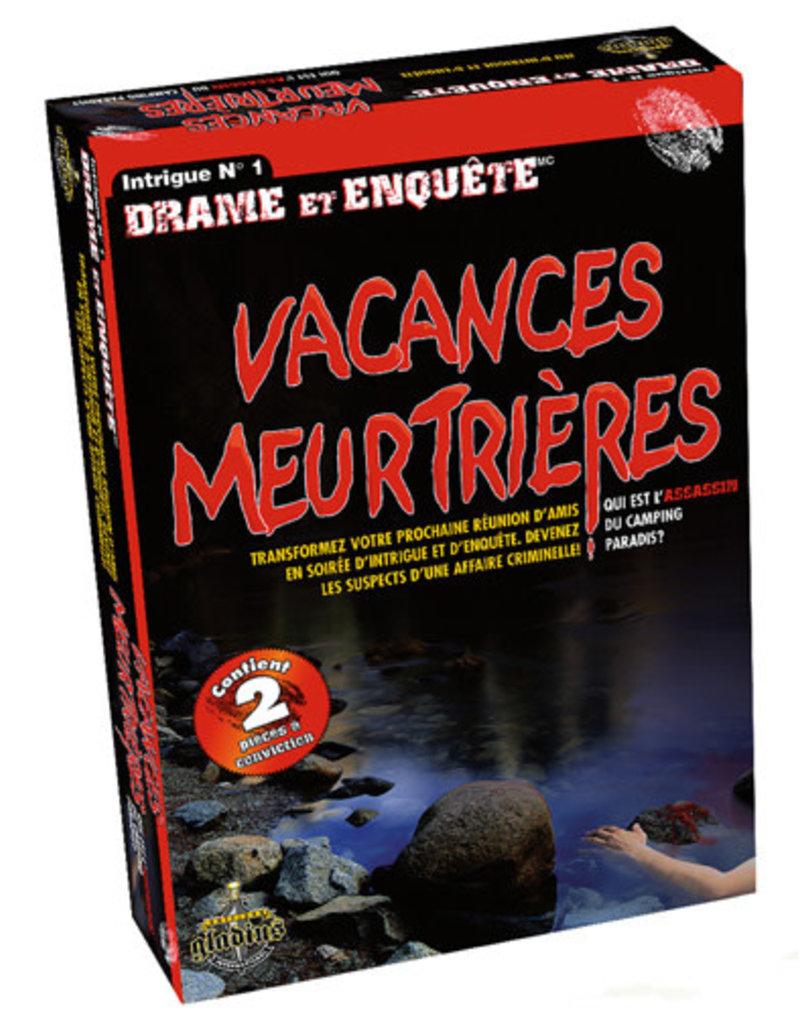 Editions Gladius International Inc. Drame & Enquête: Vacances Meurtrières (FR)