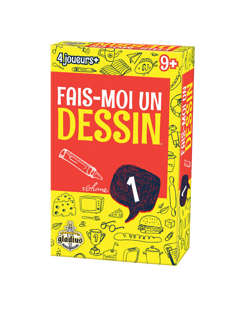 Editions Gladius International Inc. Fais-Moi Un Dessin: Vol. 1 (FR)