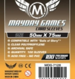 Mayday Games 7126 Sleeve «Sails Of Glory» 50mm X 75mm / 100  (commande Spéciale)
