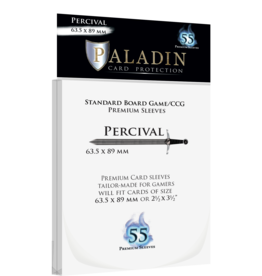 Sleeve Paladin 416 Sleeve Percival «Standard/CCG» 63.5mm X 89mm / 55 Paladin