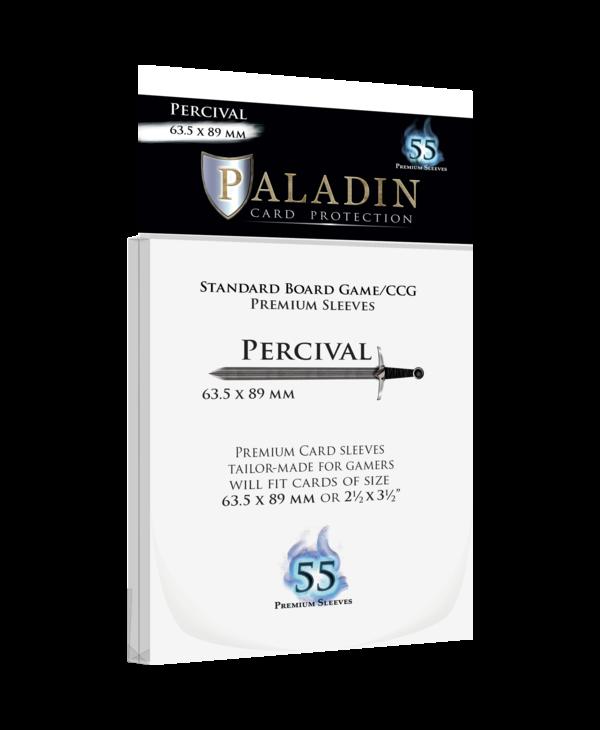 Paladin-Percival «Standard/CCG» 63.5mm X 89mm / 55 Sleeves