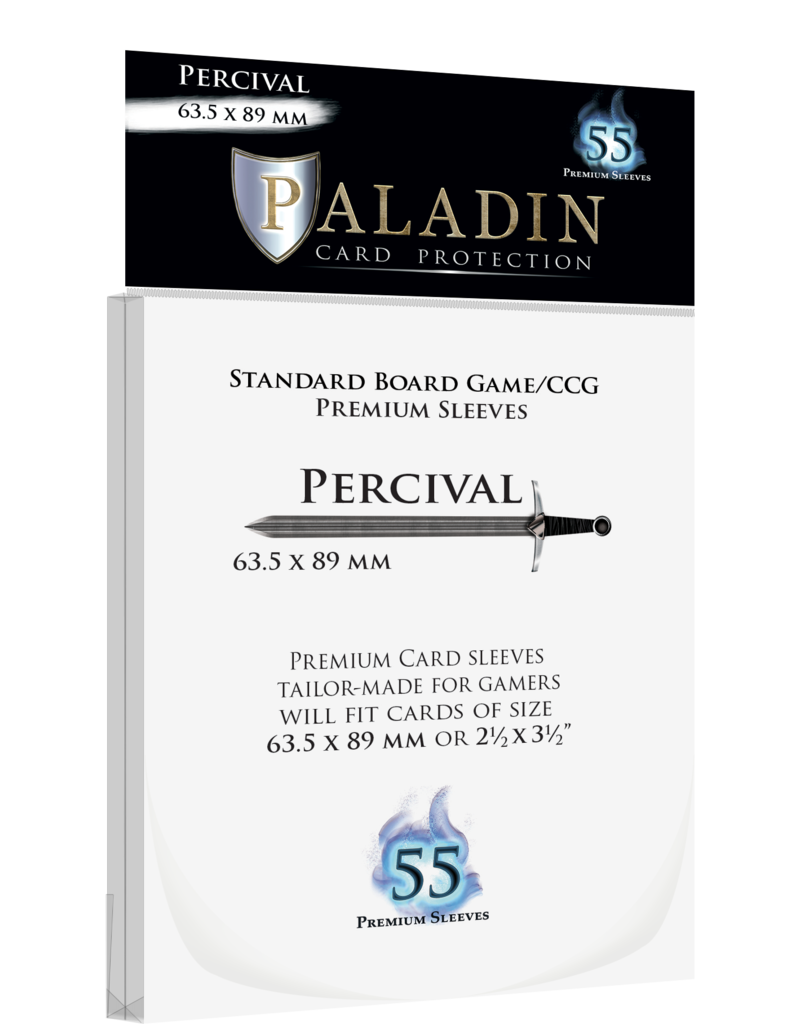 NSKN Games 416 Sleeve Percival «Standard/CCG» 63.5mm X 89mm / 55 Paladin