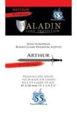 NSKN Games Paladin-Arthur «Mini European» 45mm X 68mm / 55 Sleeves