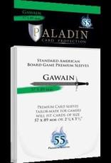 NSKN Games 430 Sleeve Gawain «Standard American» 57mm X 89mm / 55 Paladin