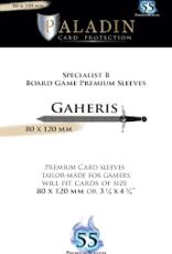 NSKN Games 485 Sleeve Gaheris «Specialist B Board Game» 80mm X 120mm / 55 Paladin
