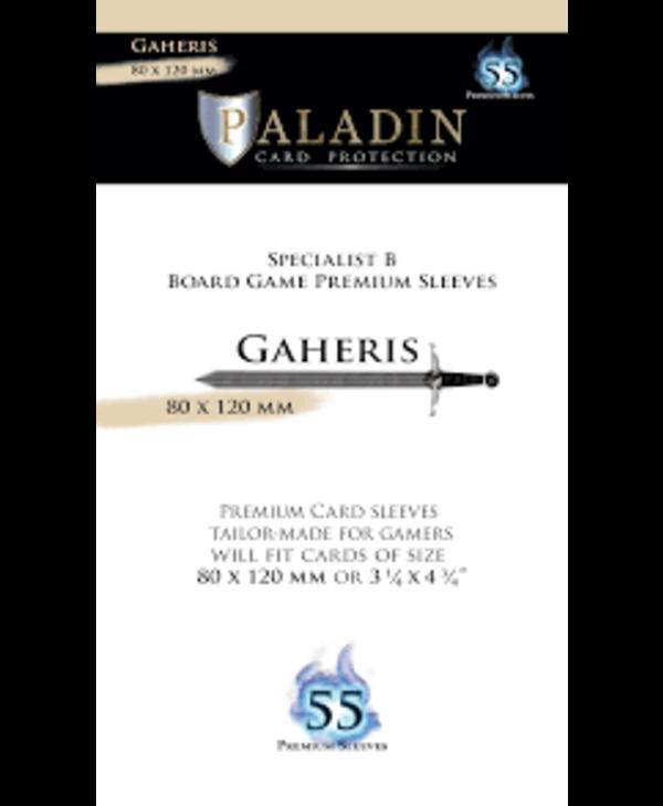 Paladin-Gaheris «Specialist B Board Game» 80mm X 120mm / 55 Sleeves