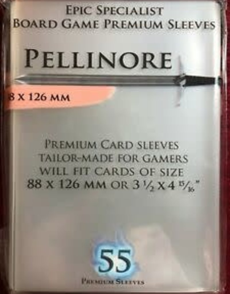 NSKN Games 645 Sleeve Pellinore «Epic Specialist» 88mm X 126mm / 55 Paladin