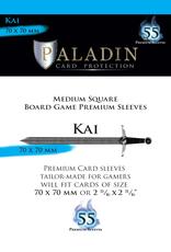NSKN Games 553 Sleeve Kai «Medium Square» 70mm X 70mm / 55 Paladin