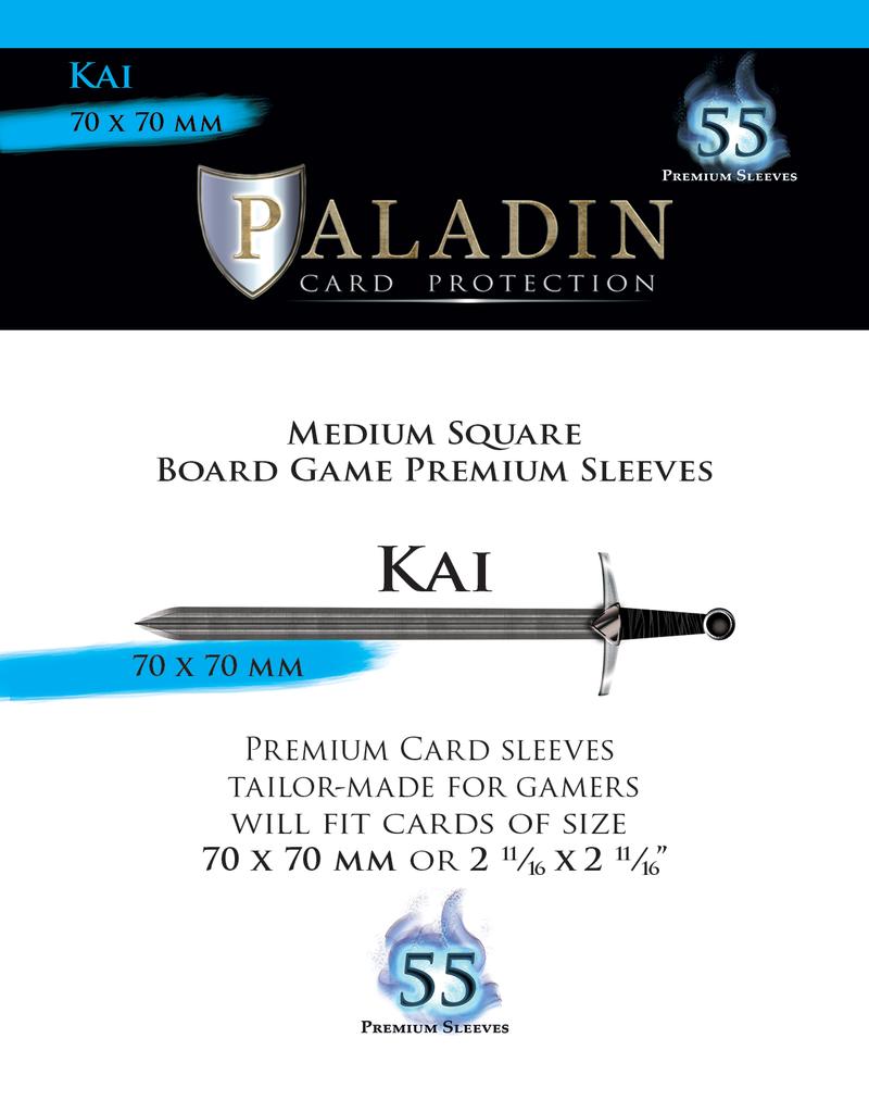NSKN Games Paladin-Kai «Medium Square» 70mm X 70mm / 55 Sleeves