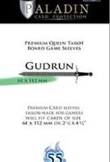 NSKN Games 652 Sleeve Gudrun «Queen Tarot» 61mm X 112mm / 55 Paladin