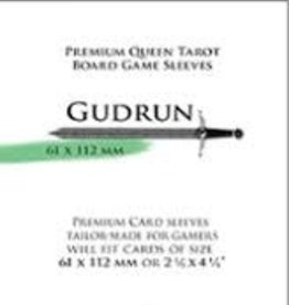 NSKN Games 652 Sleeve Gudrun «Queen Tarot» 61mm X 112mm / 55 Paladin
