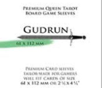Paladin-Gudrun «Queen Tarot» 61mm X 112mm / 55 Sleeves