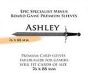 Paladin-Ashley «Epic Specialist Minus» 76mm X 88mm / 55 Sleeves