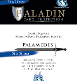 NSKN Games Paladin-Palamedes «Small Square» 51mm X 51mm / 55 Sleeves