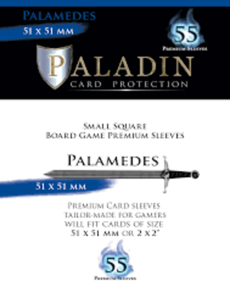 NSKN Games 546 Sleeve Palamedes «Small Square» 51mm X 51mm / 55 Paladin