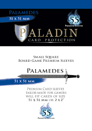 Paladin-Palamedes «Small Square» 51mm X 51mm / 55 Sleeves