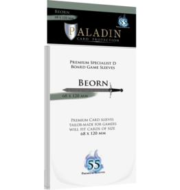 NSKN Games 928 Sleeve Beorn «Premium Specialist D» 68mm X 120mm / 55 Paladin