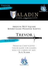 NSKN Games Paladin-Trevor «Medium Plus Square» 76mm X 76mm / 55 Sleeves