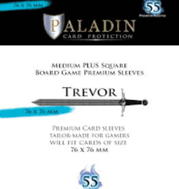 NSKN Games Paladin-Trevor «Medium Plus Square» 76mm X 76mm / 55 Sleeves