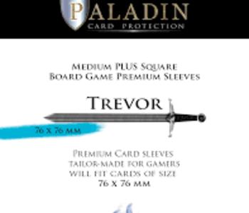 Paladin-Trevor «Medium Plus Square» 76mm X 76mm / 55 Sleeves